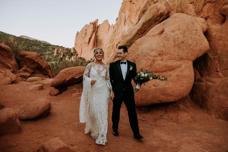 20 Breathtaking Garden of the Gods Wedding Ceremonies